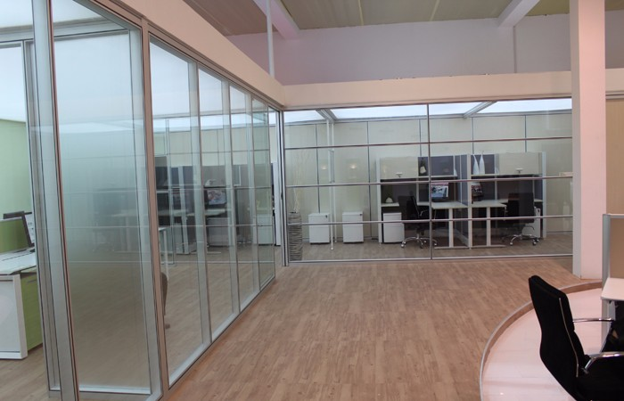 杭州办公室酒店装修设计 专业办公隔断装修
