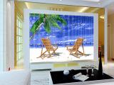 马赛克电视背景墙来图定制设计玻璃马赛克拼