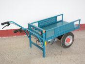 果园电动平板运输车_程磊机械——畅销花卉运输车提供商