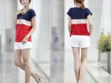 2014新款夏装韩版女装雪纺上衣宽松大码女士t恤短袖蝙蝠衫半袖女