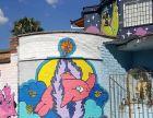 石家庄墙体彩绘石家庄餐厅手绘墙石家庄文化墙手绘幼儿园墙绘