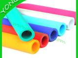 彩色磨砂硅胶管,磨砂雾面硅胶管,表面光滑