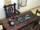 日喀则老船木茶桌椅组合批发仿古泡茶桌中式明清家具