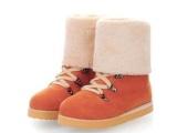 厂家批发女鞋 韩版前系带高筒靴平底骑士靴