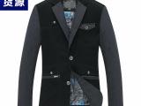 2014秋装新款男士外套 男式休闲西装男商务休闲西装修身外套