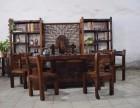 老船木茶桌实木小茶几中式功夫茶台休闲茶桌阳台小茶桌椅组合家具