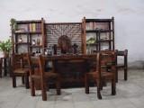 老船木茶台厂家直销,船木茶几原生态家具功夫泡茶桌椅组合
