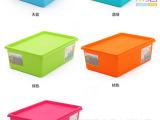 2014年康丰厂家批发新款儿童储物箱整理箱卡通小熊收纳箱塑料