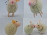 厂家订做毛绒羊公仔 羊羔毛绒玩偶 绵羊小玩偶玩具 挂饰羊玩具