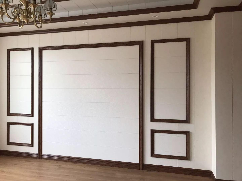 集成墙面 快装墙板护墙板装修效果