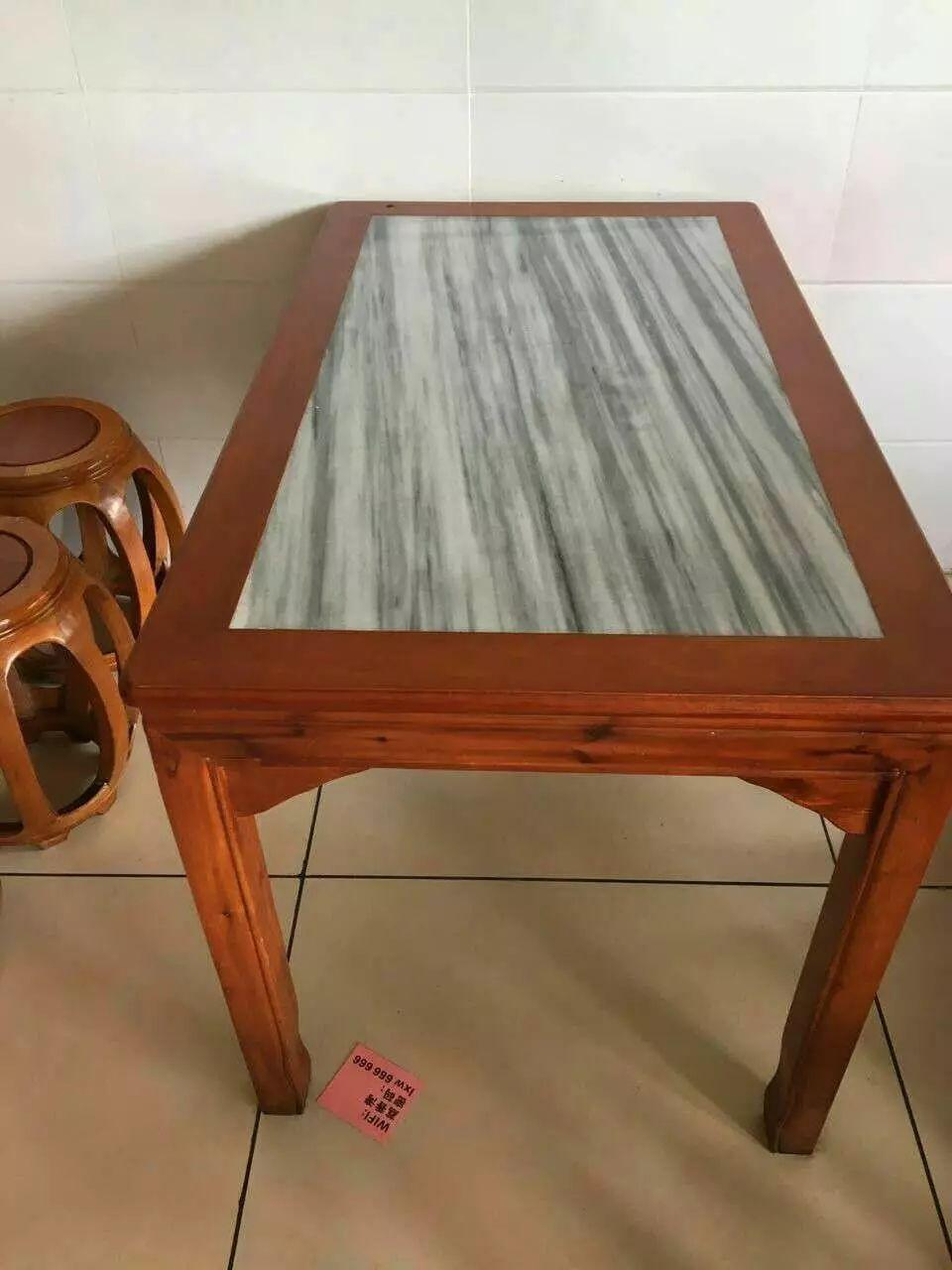 大理石餐桌椅 实木餐桌椅 超市货架 仓储货架 便宜转让