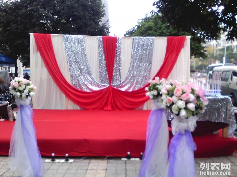 3599元坝坝宴团购婚庆套餐 主持摄像化妆婚车装饰都有哦