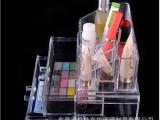 2014新款透明亚克力展示架 亚克力化妆品展示架 化妆用具展示架