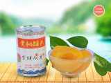 糖水桃罐头|山东新品黄桃罐头供应