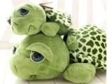 批发爱情公寓3 曾小贤可爱大眼睛乌龟 亲子小海龟毛绒玩具公仔