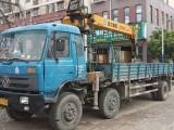 二手随车吊东风配徐工10吨冷铆加厚货箱8.6米急售