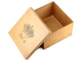 zakka复古做旧皇冠木质收纳箱 简约实木制置物箱收纳盒储存物包