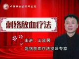 北京中医培训 王合民 轻伤不下火线刺络放血为您保驾护航
