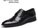 奢华休闲男鞋真皮男士皮鞋隐形增高鞋
