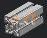 常州优质50系列铝型材【特价供应】,50100铝型材价格