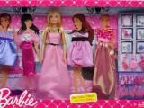 女孩过家家玩具 芭比女孩之礼服套装 X3497 美泰娃娃 玩具批