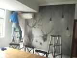 惠州专业贴墙纸墙布师傅