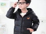 小爸爸朱佳煜同款 童装儿童短款羽绒服中大童男童休闲羽绒服外套