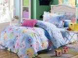 全棉斜纹活性印花儿童床上用品三件套厂家直销特价批发三件套