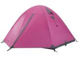 牧高笛户外装备防暴雨透气三季帐双层三人帐野外野营帐篷冷山3
