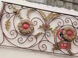 成都溫江別墅公寓小區鐵藝大門鐵藝圍欄
