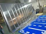 大型交通标志牌3mm铝板上贴超强级反光膜报价