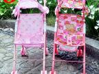 厂家供应最新粉色816A儿童玩具推车 过家家玩具 手推车