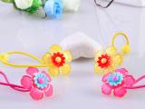 韩国儿童发饰 树脂精品大花朵头花皮筋扎头绳 女孩喜欢的礼品