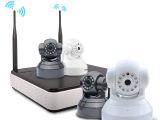 优是安防 网络监控录像机套装 wifi无线摄像头监控摄像机设备套