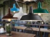 塞特尔loft创意咖啡厅餐厅酒吧台吊灯 欧美式乡村工业简约铁艺