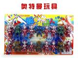 26小号迪迦奥特曼18只装超人玩具儿童动漫玩具模型 地摊热卖