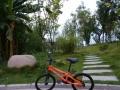 美国优贝儿童自行车户外健身一家亲