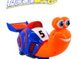 电动极速蜗牛批发带灯光 音乐益智玩具 万