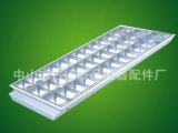 LED格栅灯盘3X40W 亚光铝 镜面铝