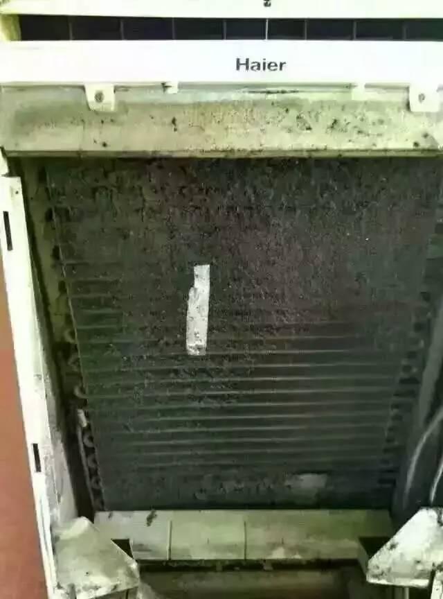 空调深度清洗 济宁邦洁家电清洗