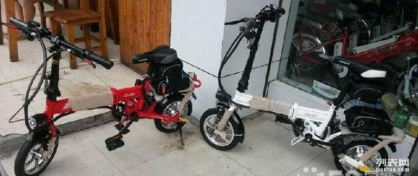 神器 最小巧的折叠电动自行车 折叠滑板车没办法比的折叠车 电动车