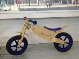 厂家直销 批发木制儿童玩具平衡车 学步车 童车自行车
