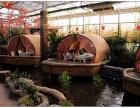 宁夏灵武市阳光板温室餐厅2万平米生态绿色饭庄环境优雅生产公司