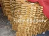 四川德阳木纹色PVC栏杆