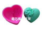 供应硅胶模具 手工皂模具LOVE心形模 LOVE爱心