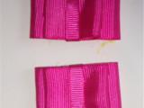 生产供应涤纶织带蝴蝶结 服装辅料蝴蝶结纱带 各色装饰蝴蝶结批发