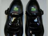 时尚可爱外贸原单黑色中大童公主皮鞋外贸童