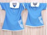 韩国翻领短袖大码女装女士t恤服装定单加工 女装OEM加工定制批发