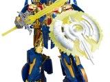 最新款威将变形金刚W8007黄金合金版擎天柱 儿童变形机器人玩具