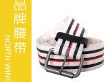 2012新款 编织 帆布腰带 厂家直销 外贸原单 EF114